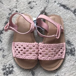 ❤️ Old Navy Pink Woven Sandals